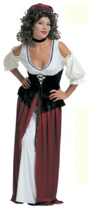 Medieval Tavern Wench Costume